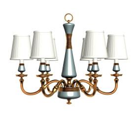 美式陶瓷吊燈