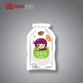 果冻产品包装可爱卡通风格