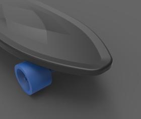 入门级塑料电动滑板
