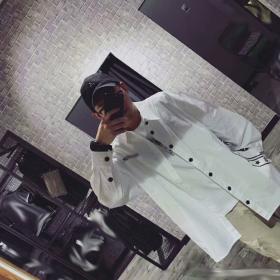 潮牌服装设计宽松版衬衣