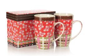陶瓷杯(两只杯礼盒装)