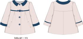 女童女童风衣外套