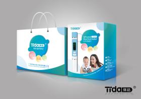 包装设计-电子产品-电子体温计