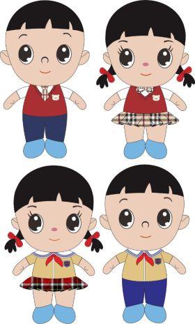毛绒玩具对偶娃娃系列