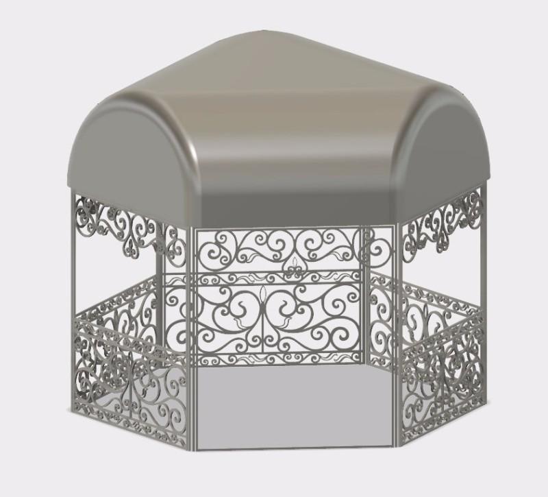 花园凉亭设计