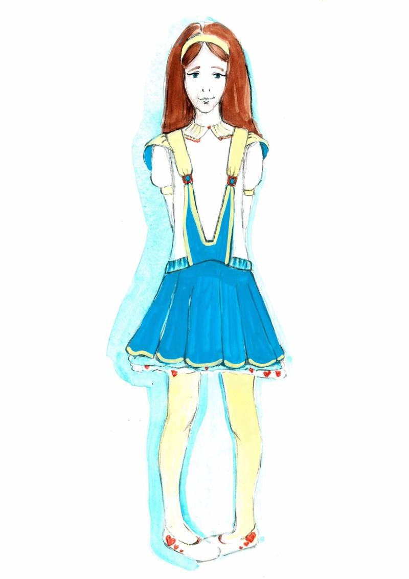 女童服装设计