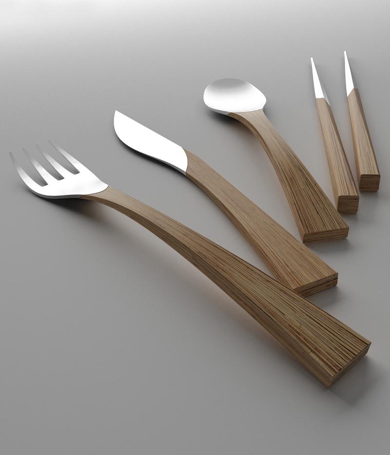 餐具——自然