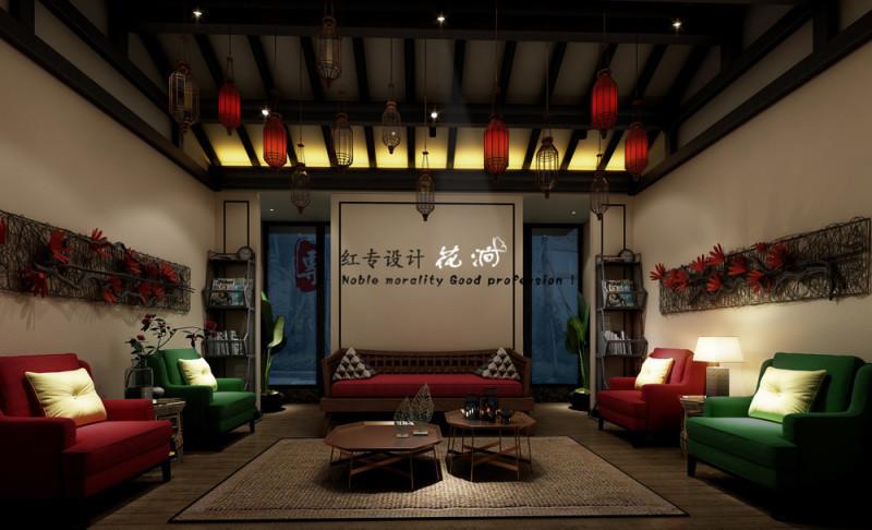 四川酒店设计—红专设计 花涧主题酒店