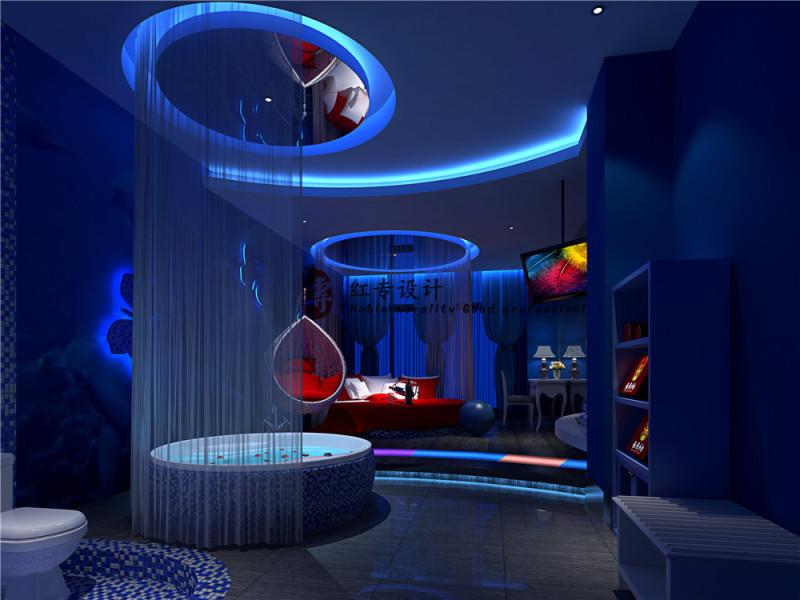 成都酒店设计公司—红专设计| 醉卧天地酒店