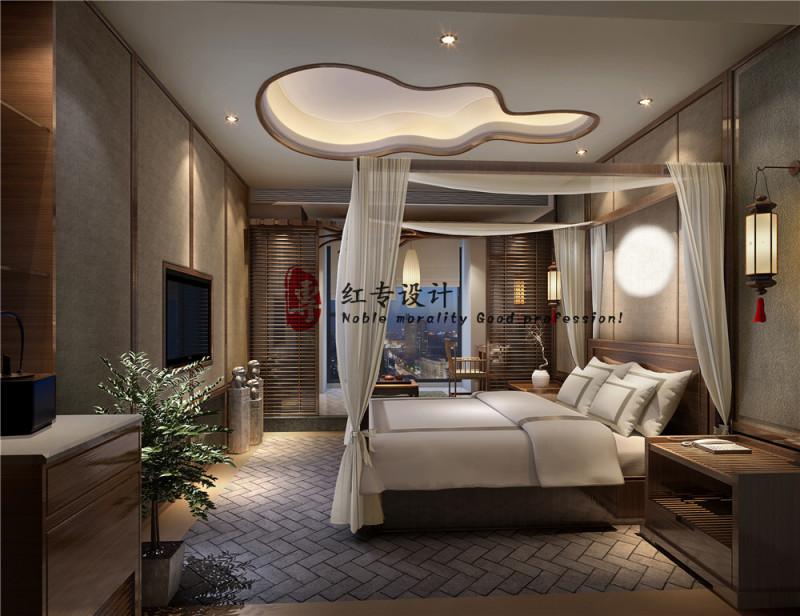 四川酒店设计公司—红专设计 茗山居酒店