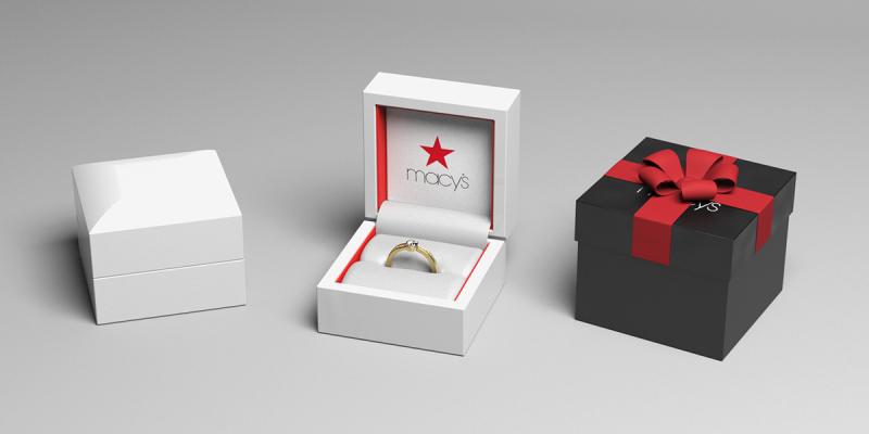 梅西戒指盒设计