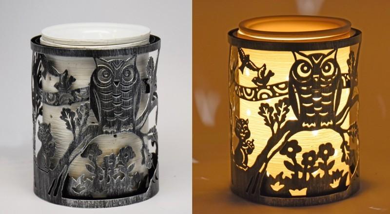 万圣节取暖器/烛台