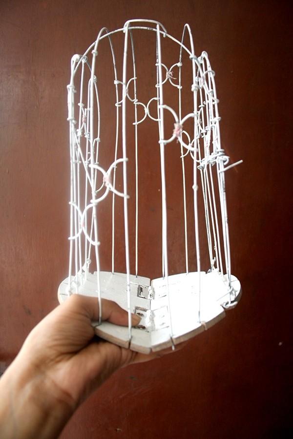 家居装饰-可折叠鸟笼
