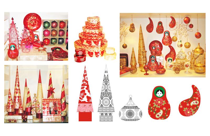 节日礼品装饰设计