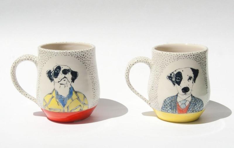 陶瓷马克杯-狗