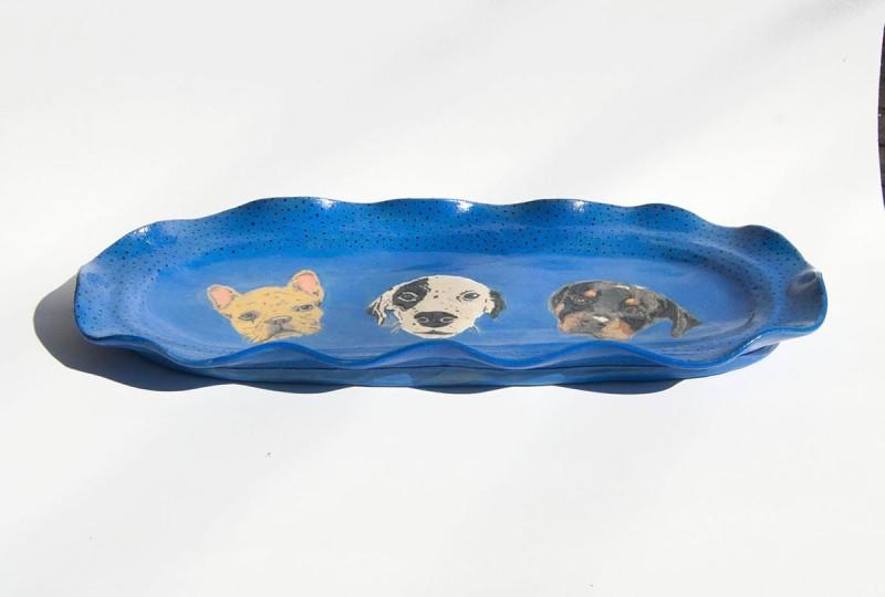 装饰陶瓷托盘