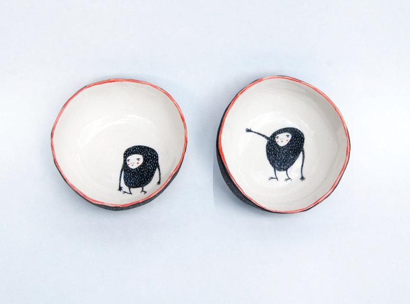 陶瓷碗-修道士