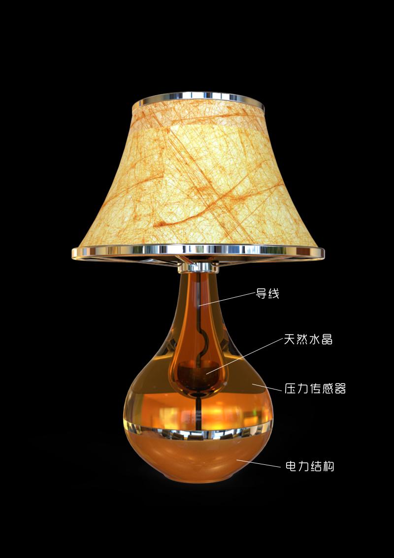 床柜水晶灯产品设计
