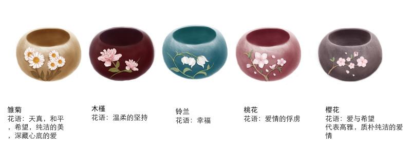 花语花器花盆