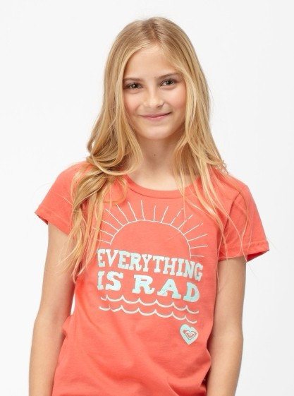 Roxy Girl夏季T恤图案