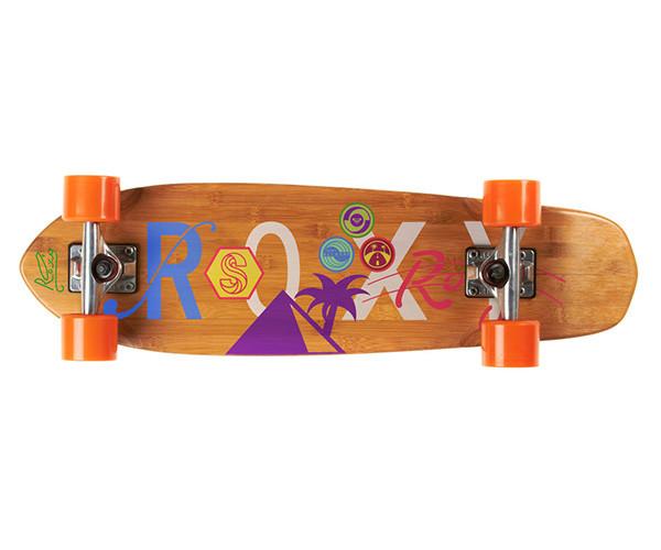 Roxy滑板图案