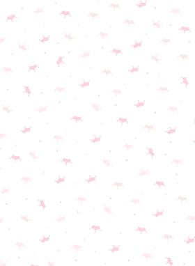 公主图案印花面料文具内衣童装包装纸墙纸