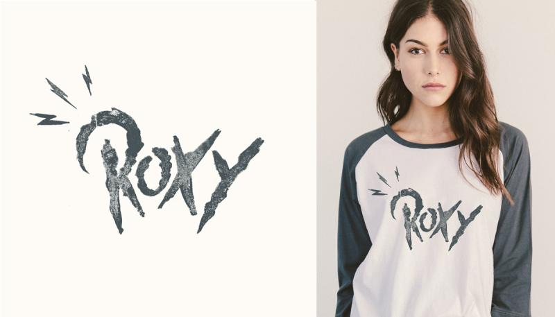 ROXY 图案设计