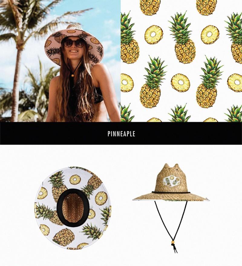 Hemlock Hat帽子图案设计——菠萝