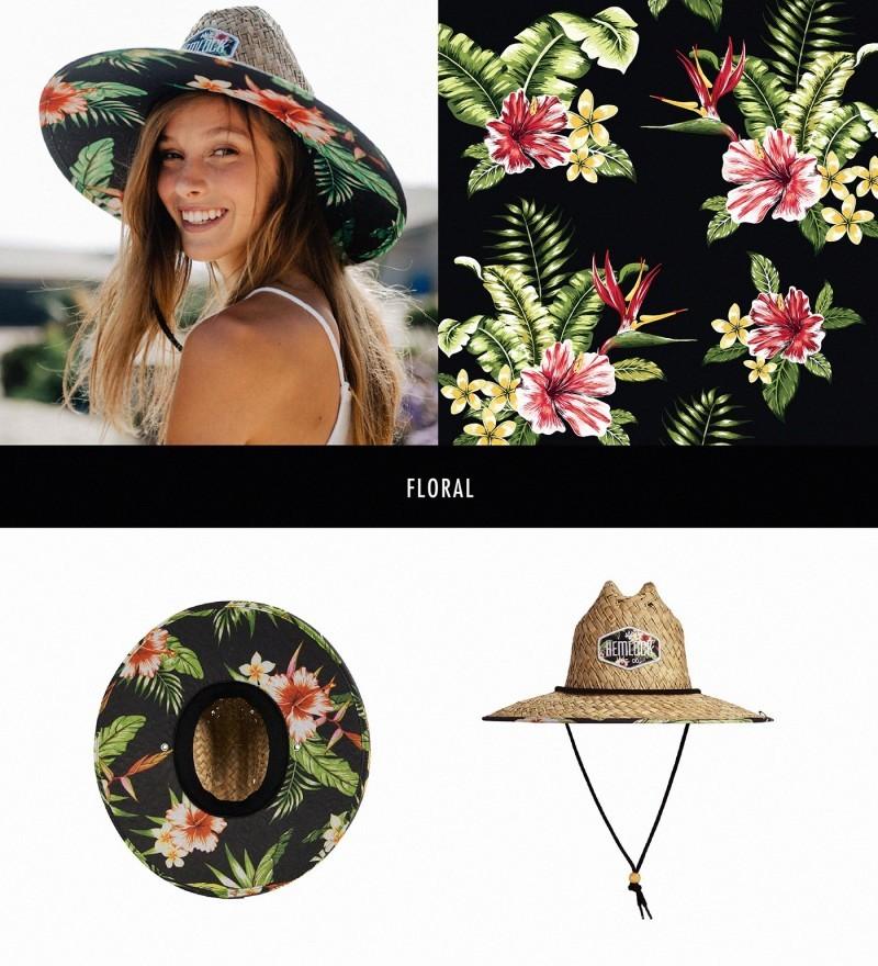 Hemlock Hat帽子图案设计——花卉