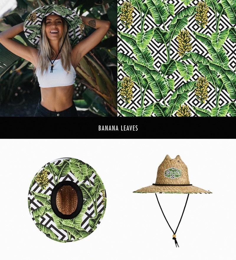 Hemlock Hat帽子图案设计——香蕉叶