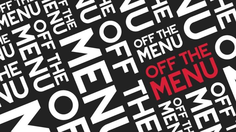 Logo设计——Off the Menu