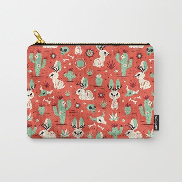 图案设计——鹿角兔
