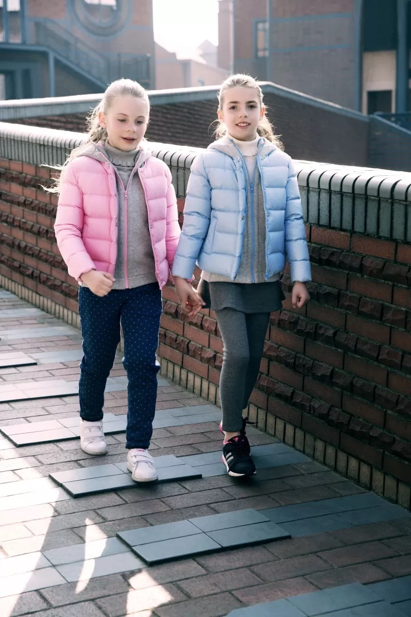 女童羽绒服设计