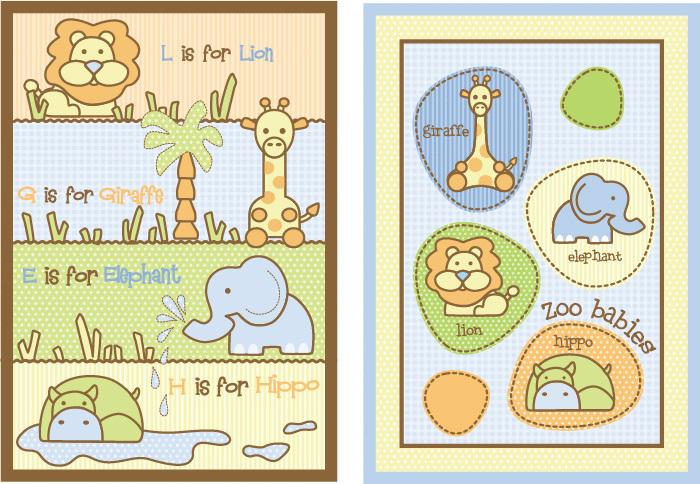 婴童床品设计