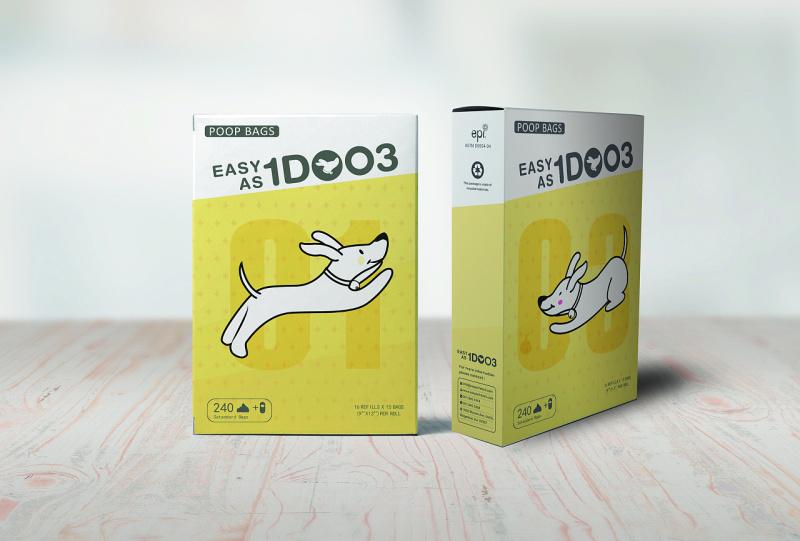 狗狗垃圾袋包装设计