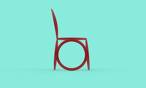 圆形家具系列
