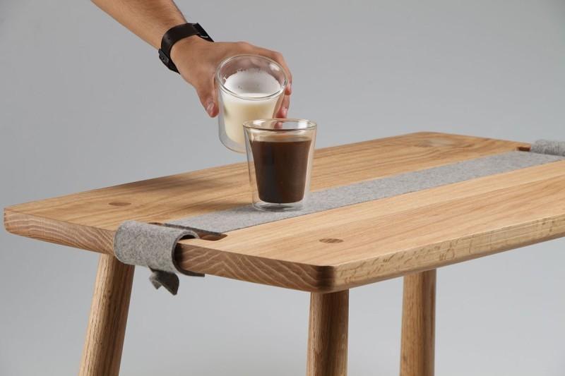 组装咖啡桌