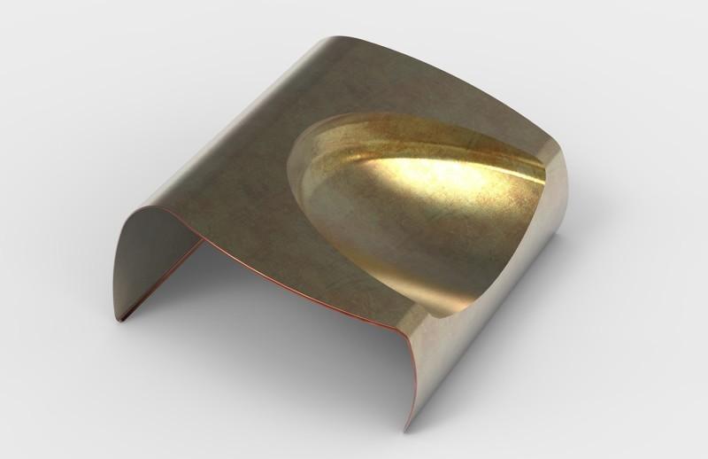 DECONSTRUCTED钢板椅