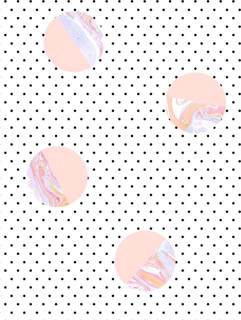 女装童装波点卫衣连衣裙面料花型设计