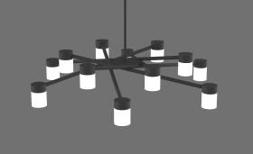 铁艺客厅吊灯