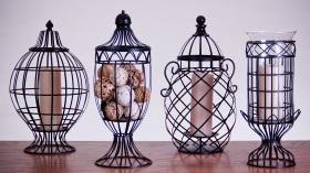 金属丝灯具设计