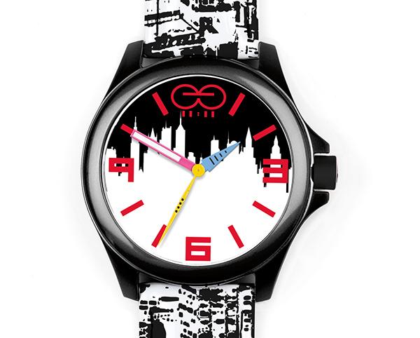 Bergdorf Goodman手表图案设计