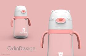 婴童简约保温杯设计