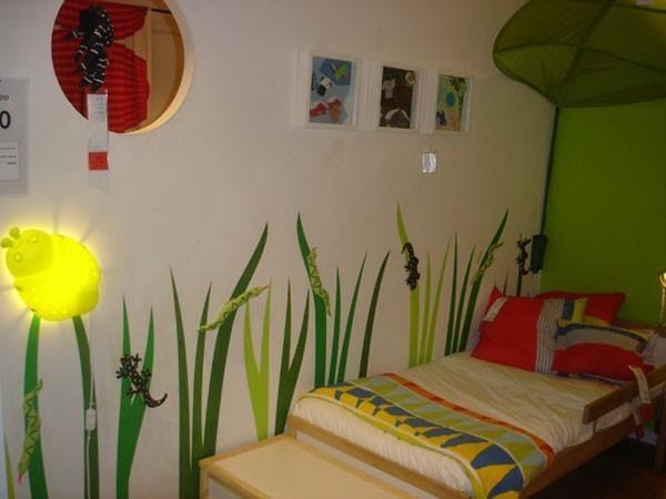 宜家乡村婴儿房设计