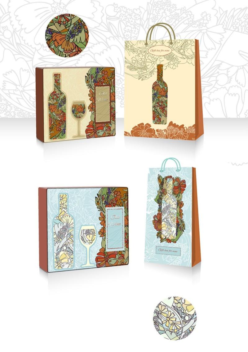 红酒礼盒包装