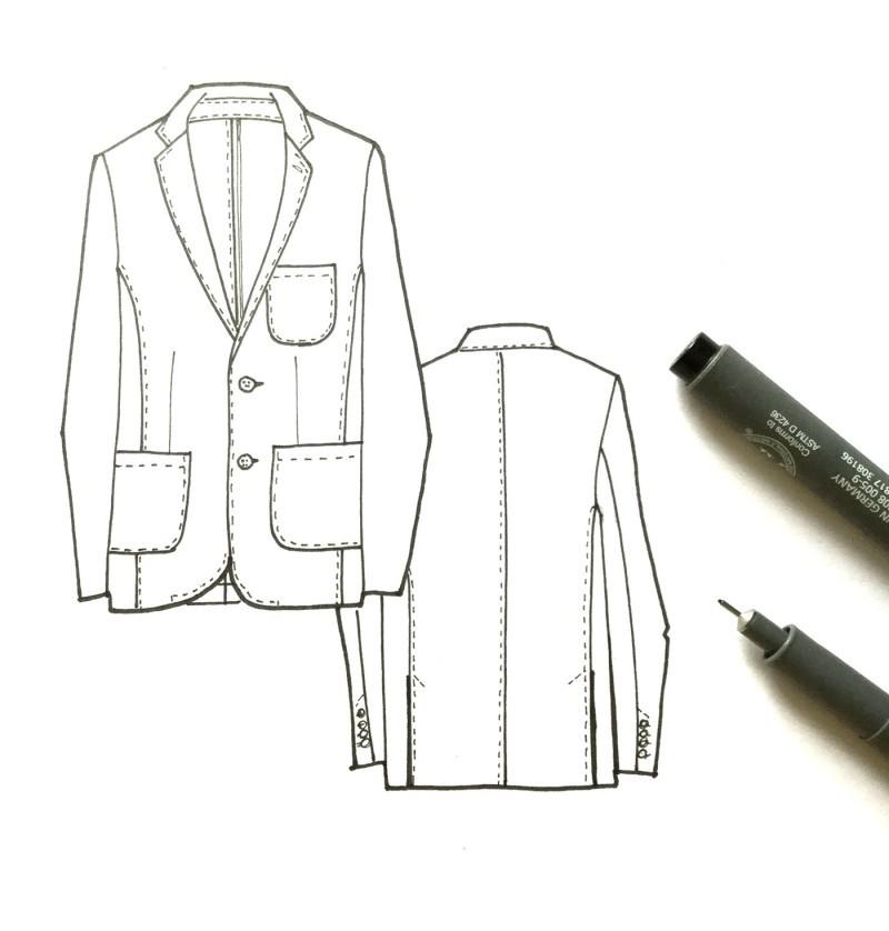 Michael Kors西装设计