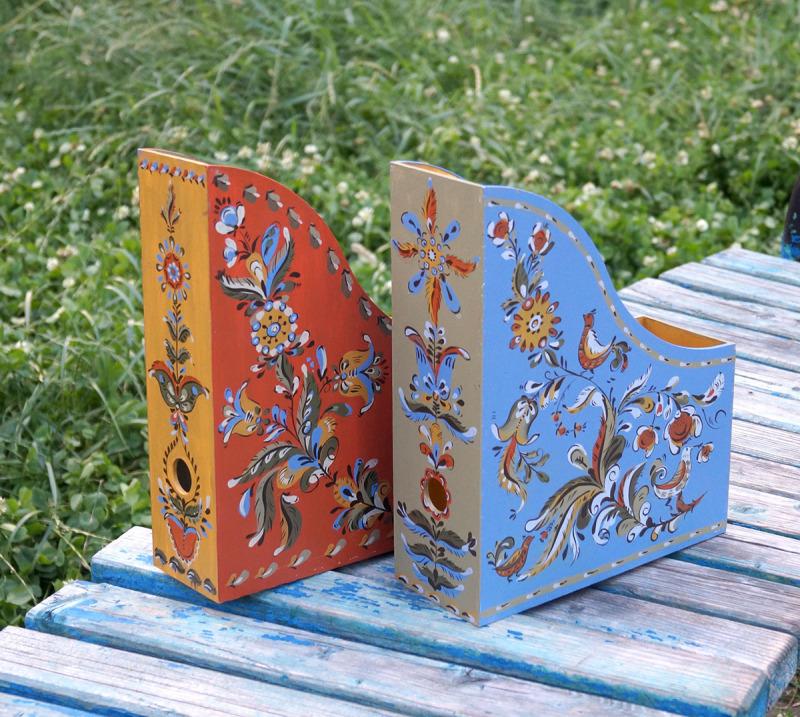 手绘文件盒