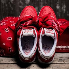 Reebok Blassic经典皮革鞋