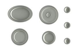 陶瓷盘子和杯子