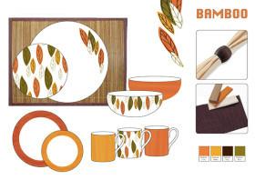 餐具圖案設計——部落主題
